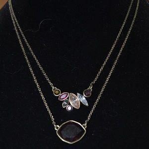 Chloe + Isabel Bouquet Rouge Pendant Necklace